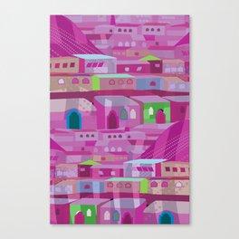 Ecatapec in Purple Canvas Print