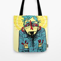 the 100 Tote Bags featuring 100% great by musa