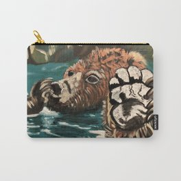 Chill Bear by Noelle's Art Loft Carry-All Pouch
