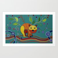 DNSW Series: Patrick the Wombat Art Print