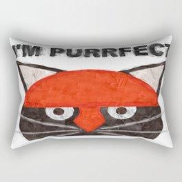 A pussy cat Rectangular Pillow