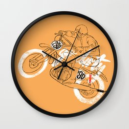 go dirty Wall Clock