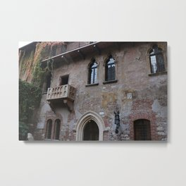 Romeo and Juliet Balcony Metal Print