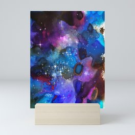 Nebula Painting Mini Art Print