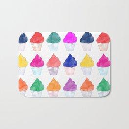 Cupcake Pattern Bath Mat