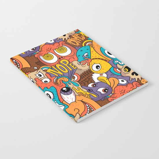 Weird Guys Pattern Notebook