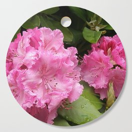 Rhododendron After Rain Cutting Board