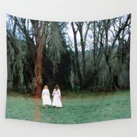 sister Wall Tapestries featuring Sister Wives by Slow Toast