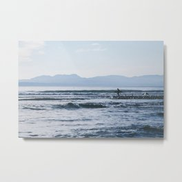 West Coast Surf Metal Print