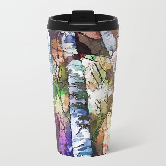 Aspen Trees Metal Travel Mug