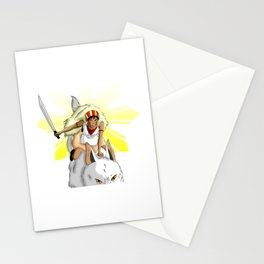 Andrea Bonifacio: San (Princess Mononoke) x Bonifacio x Gabriela Silang Stationery Cards