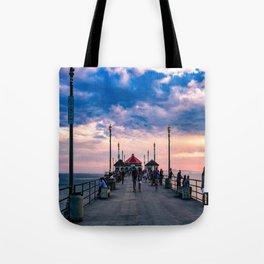 September Dawn - HB Pier Tote Bag