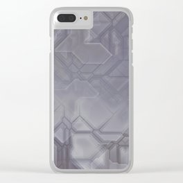 future fantasy steel Clear iPhone Case