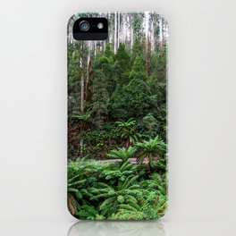 Mt Donna Buang, Warburton, Victoria iPhone Case