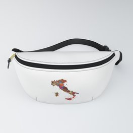 Italy Map Fanny Pack