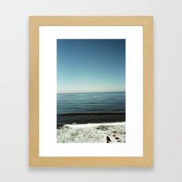 Big Sur Wave Framed Art Print