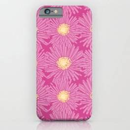 Ice Plant Flower Pattern  iPhone Case