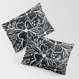 Chalk Florals Pillow Sham