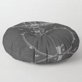 Snare Drum Vintage Patent 1939 Drummer Floor Pillow