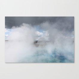 Clouds & Steam Canvas Print
