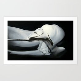 Organza Art Print