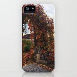 Archway in Liechtenstein iPhone Case