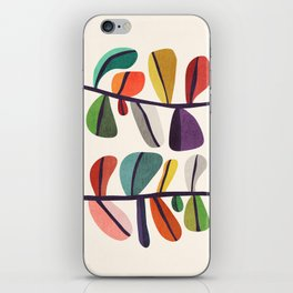 Plant specimens iPhone Skin