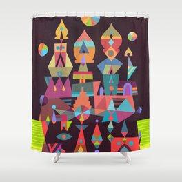 Structura 2 Shower Curtain