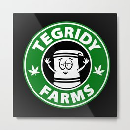 Tegridy Farms Metal Print