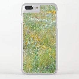 Wildflowers Field 2 Clear iPhone Case