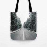 onward Tote Bags featuring Onward by danotis