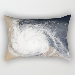Tropical Cyclone Chapala Over the Gulf of Aden Rectangular Pillow