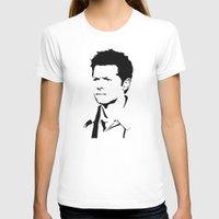 castiel T-shirts featuring castiel by poorbeautifuldean