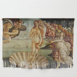 The Birth of Venus by Sandro Botticelli Wall Hanging