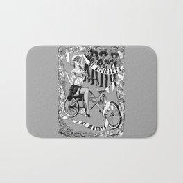 My Bicycle or My Death Bath Mat