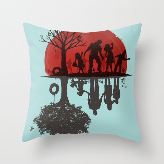 A Family Once Throw Pillow