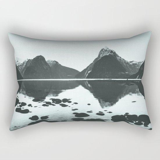 Platinum Landscape Rectangular Pillow