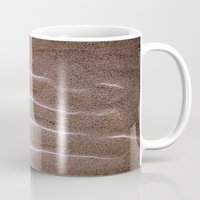 sand Mugs featuring sand by  Agostino Lo Coco