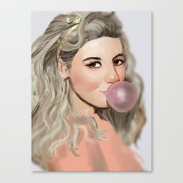 Electra Heart Canvas Print