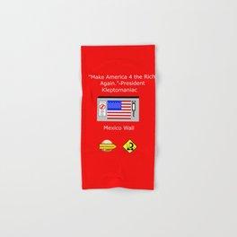 Make America 4 the Rich Again Hand & Bath Towel