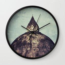 Stupa Wall Clock