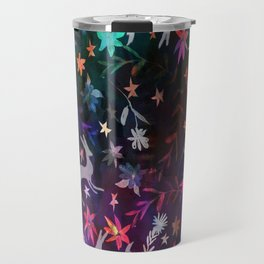 Watercolour folk otomi II Travel Mug