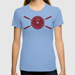 Large DNC Barbell Logo T T-shirt