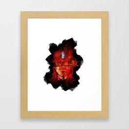 MudBlood Framed Art Print