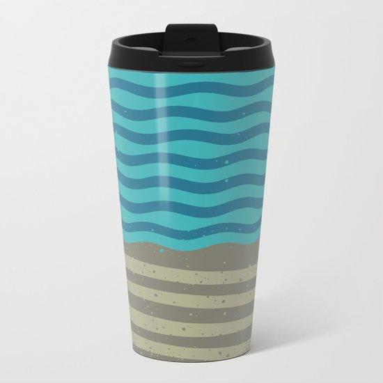 FOR SHORE Metal Travel Mug