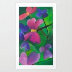 Stems Art Print