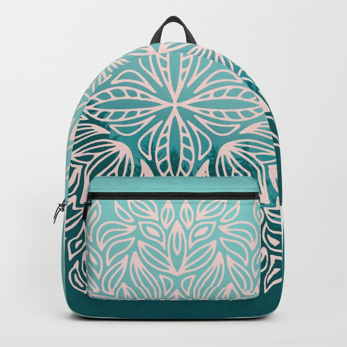 Mandala Forest Dawn Backpack