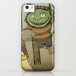 Wild Thing Jumping iPhone Case