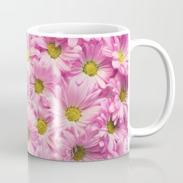 Daisies x Pink Coffee Mug