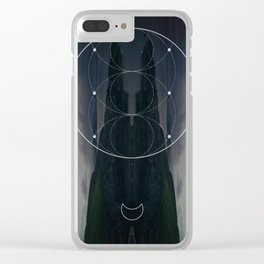 Goddess #2 Clear iPhone Case